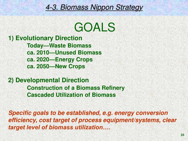 4-3. Biomass Nippon Strategy
