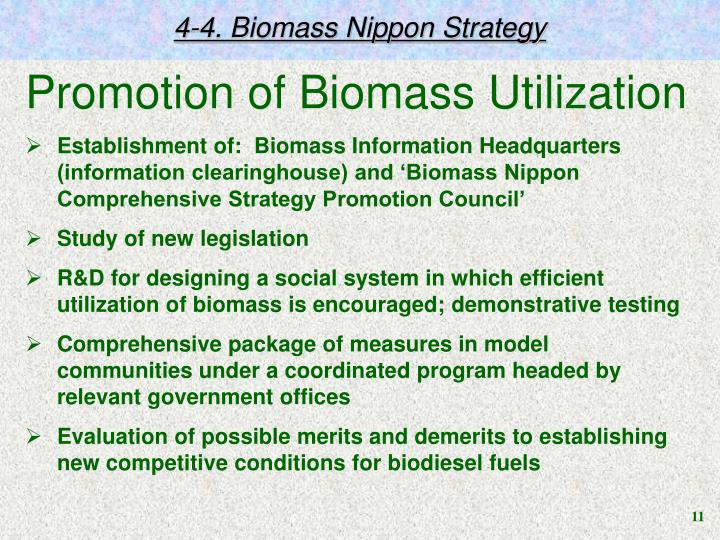 4-4. Biomass Nippon Strategy