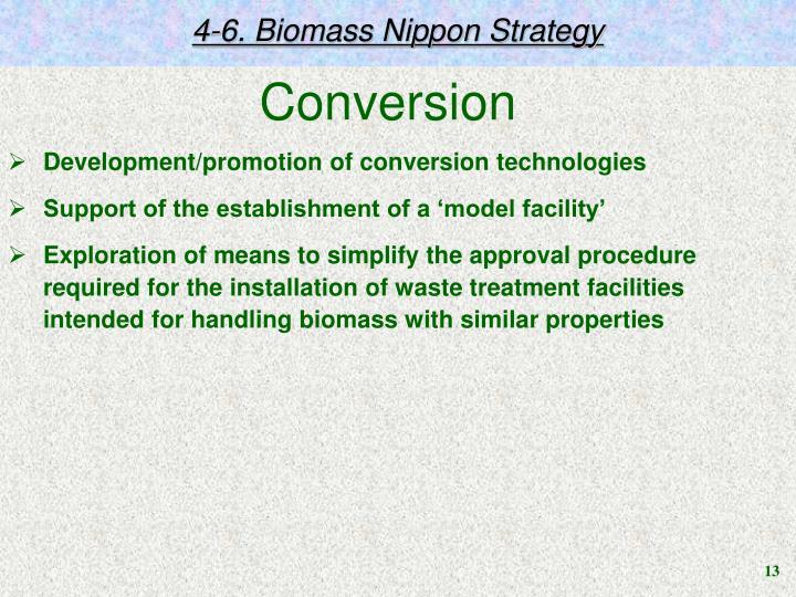 4-6. Biomass Nippon Strategy