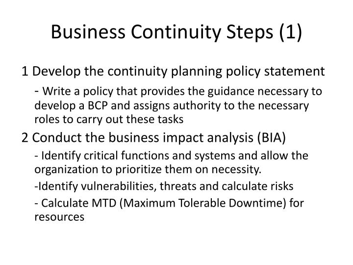 Business Continuity Steps (1)