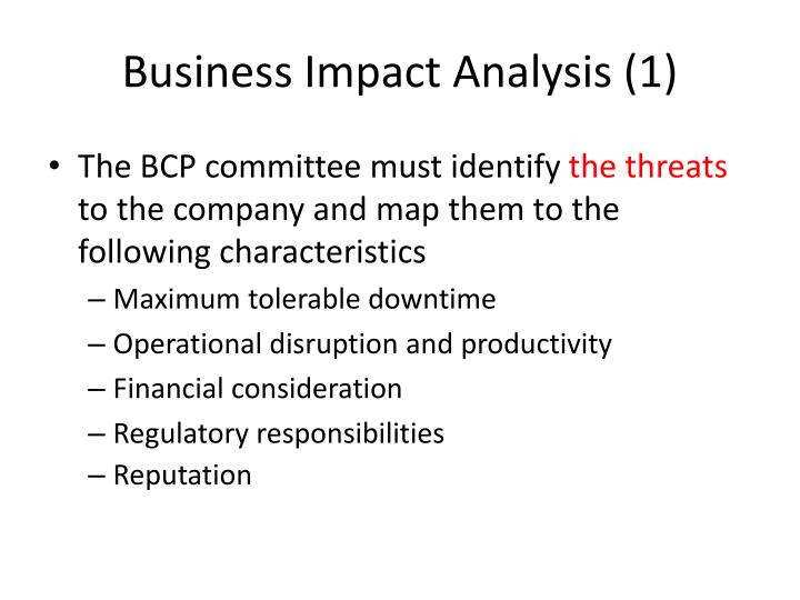 Business Impact Analysis (1)