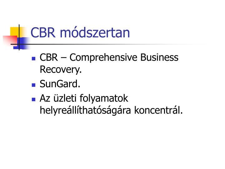 CBR módszertan
