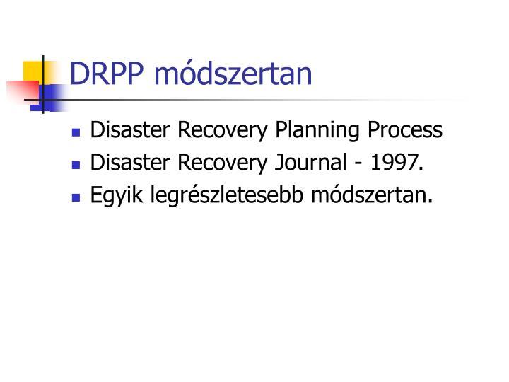 DRPP módszertan