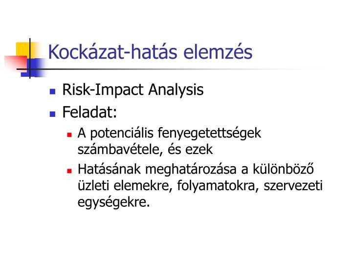 Kockázat-hatás elemzés
