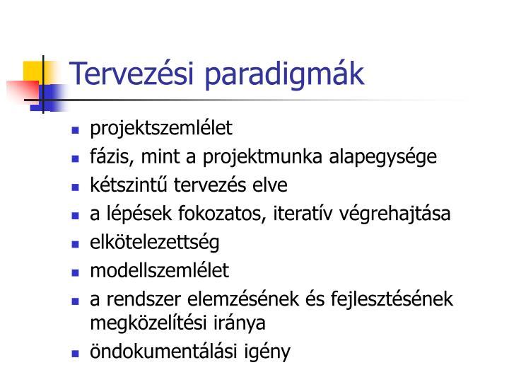 Tervezési paradigmák