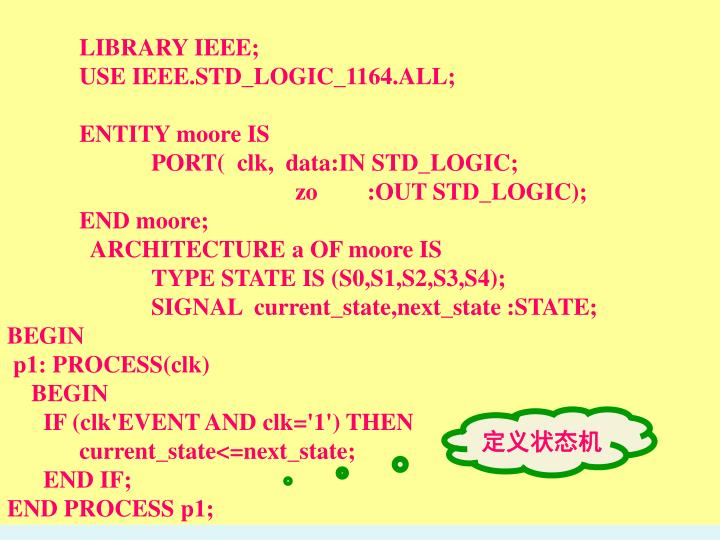 LIBRARY IEEE;