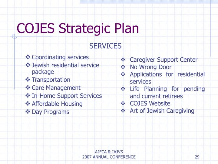 COJES Strategic Plan