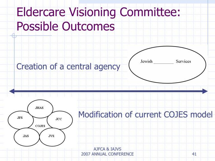 Eldercare Visioning Committee: