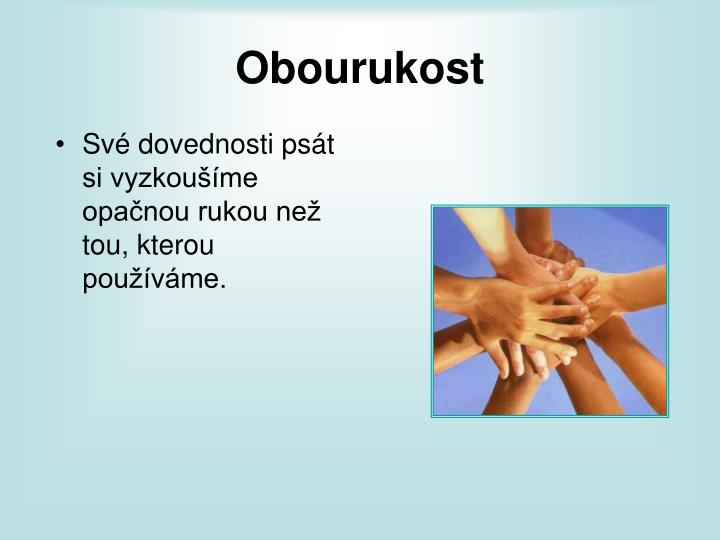 Obourukost