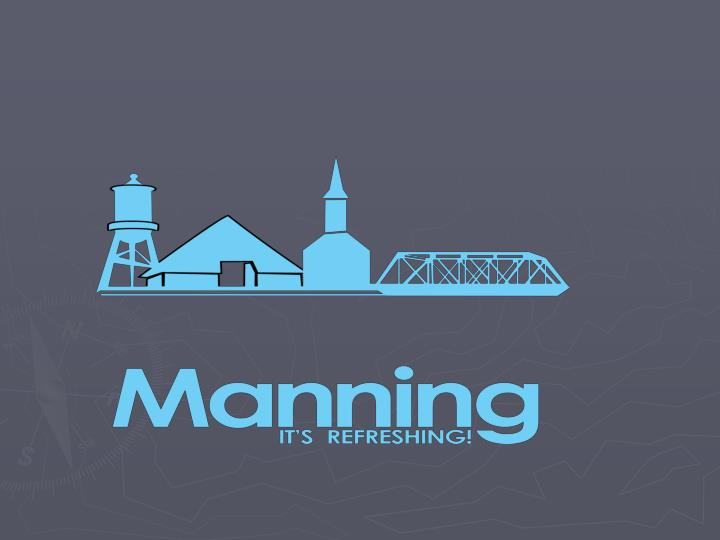 Manning is so much more than multiple community foundations and non profit groups