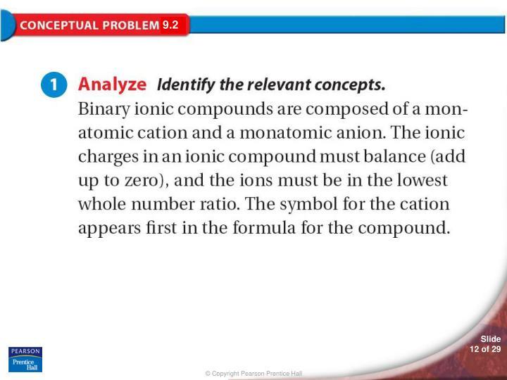 Conceptual Problem 9.2