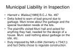municipal liability in inspection1