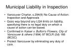 municipal liability in inspection4