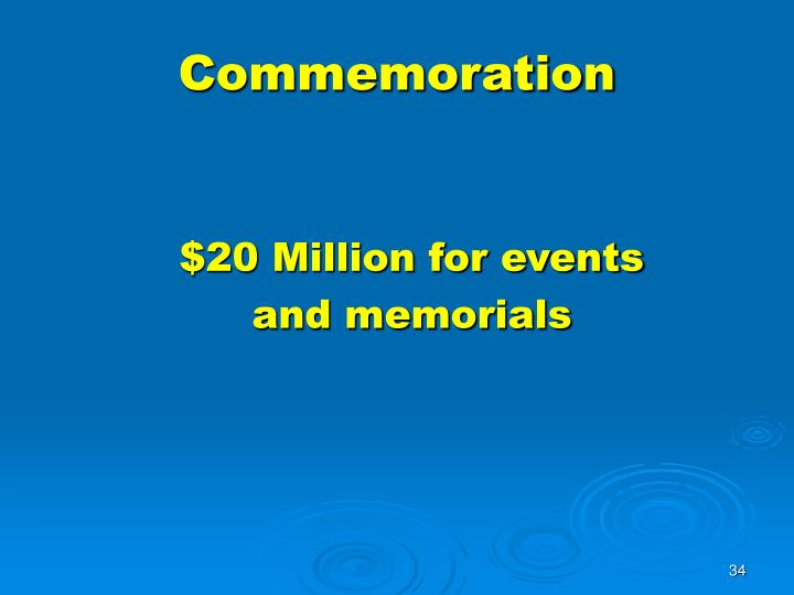 Commemoration