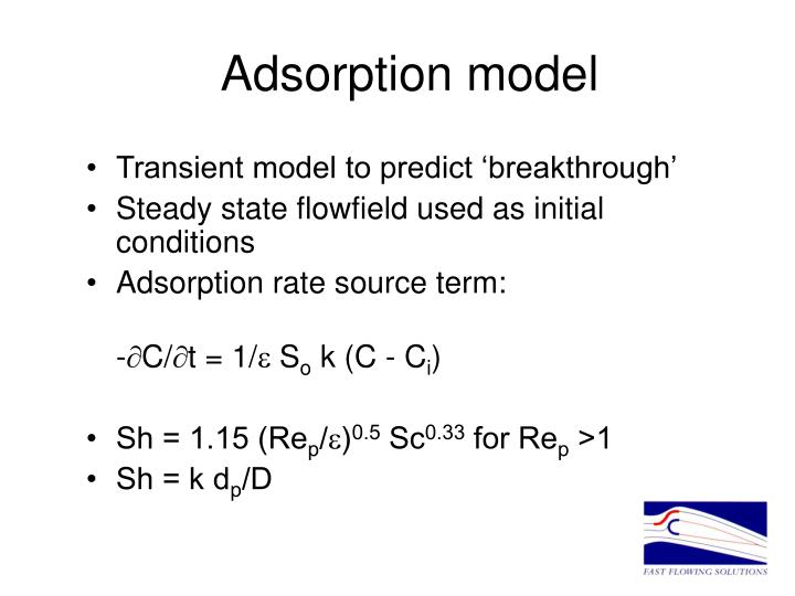 Adsorption model
