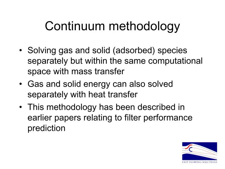 Continuum methodology