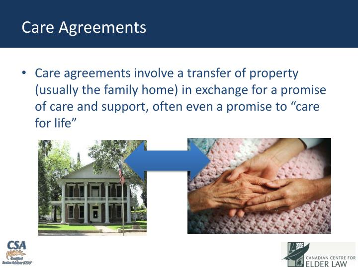 Care Agreements