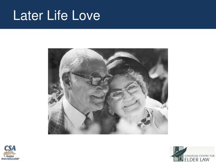 Later Life Love