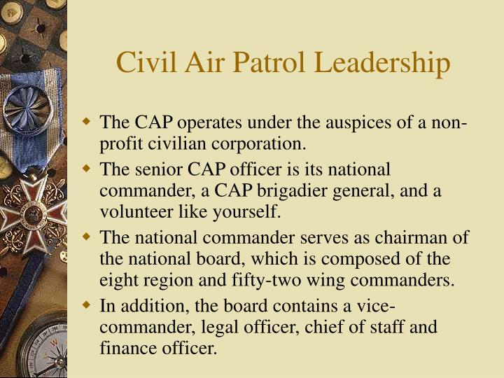 Civil Air Patrol Leadership
