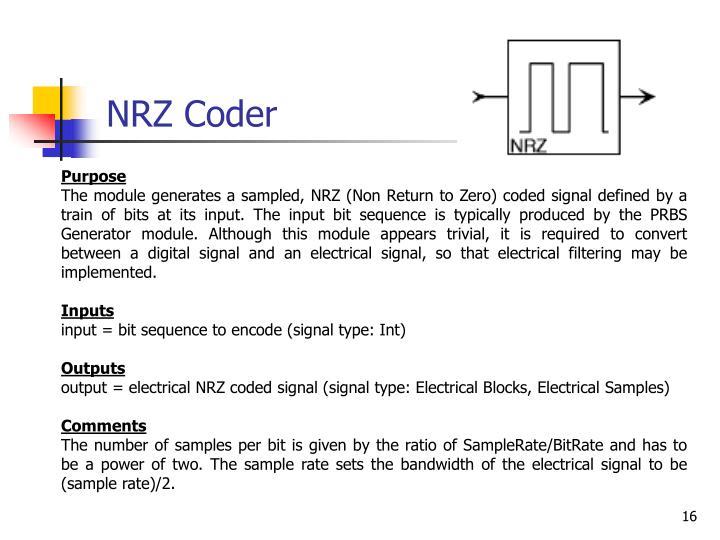 NRZ Coder