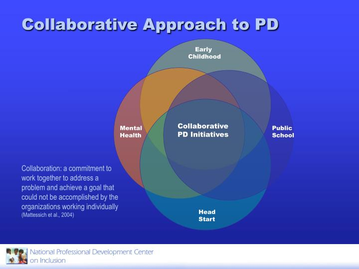Collaborative Approach to PD