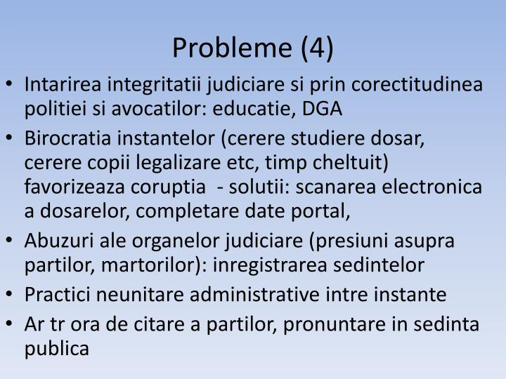 Probleme (4)
