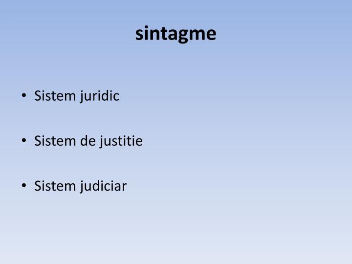 sintagme