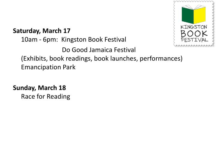 Saturday, March 17