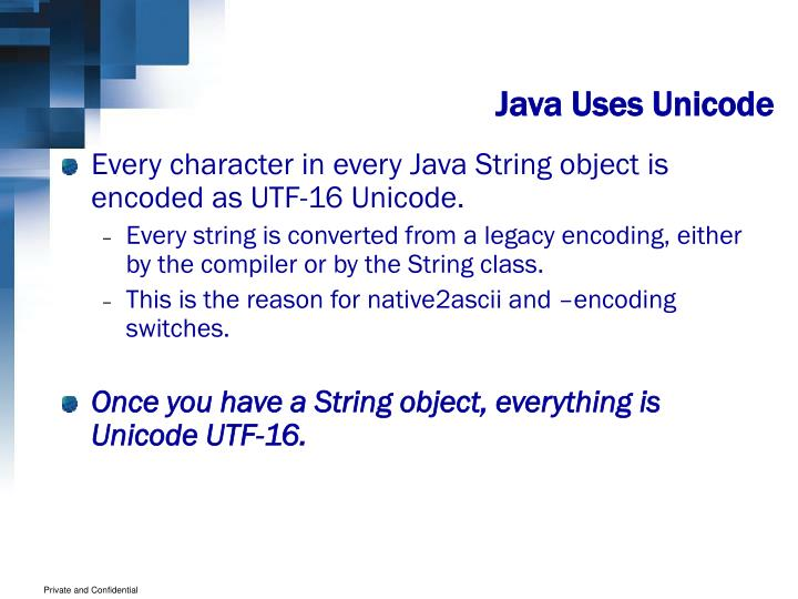 Java Uses Unicode