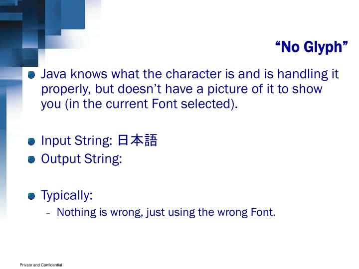 """""""No Glyph"""""""
