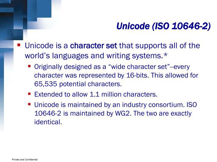 Unicode (ISO 10646-2)
