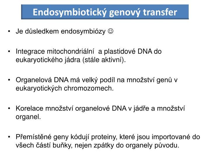 Endosymbiotický