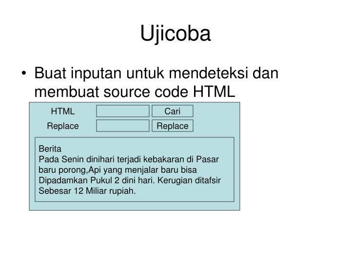 Ujicoba