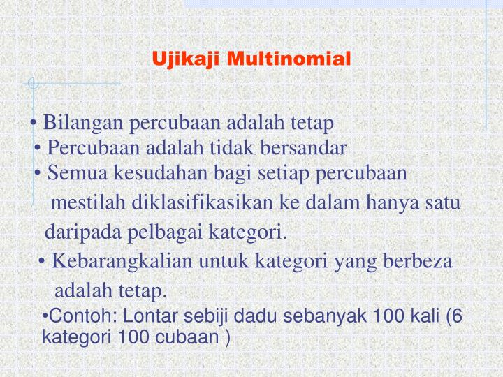 Ujikaji Multinomial