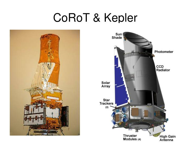 CoRoT & Kepler
