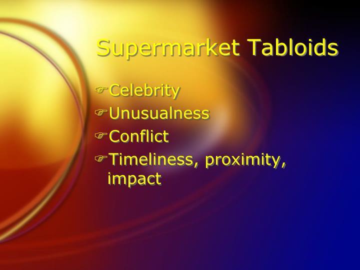 Supermarket Tabloids