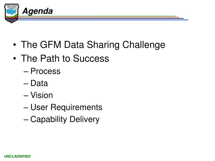 The GFM Data Sharing Challenge
