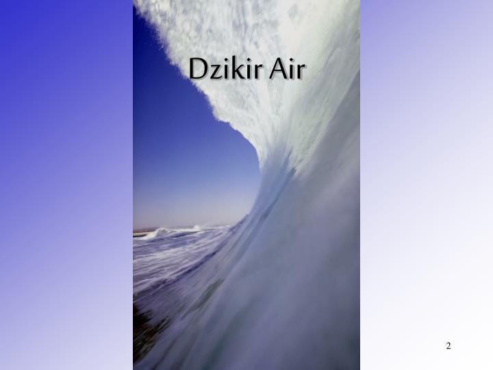 Dzikir Air
