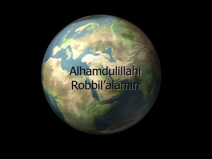 Alhamdulillahi