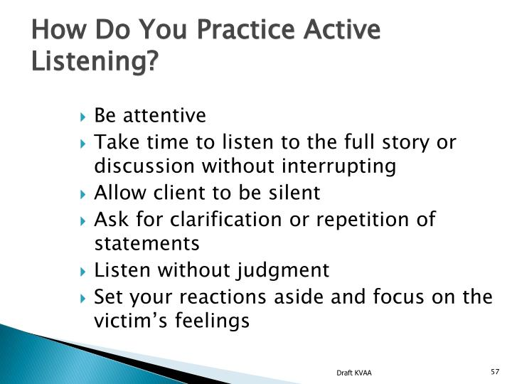 How Do You Practice Active Listening?