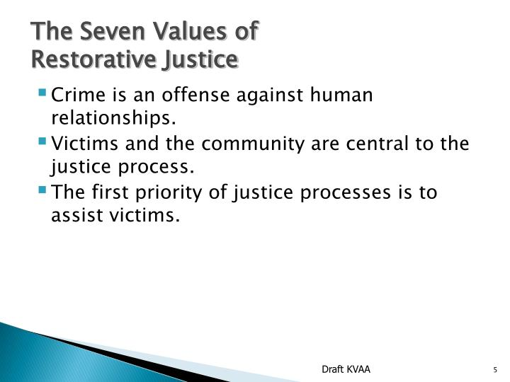The Seven Values of