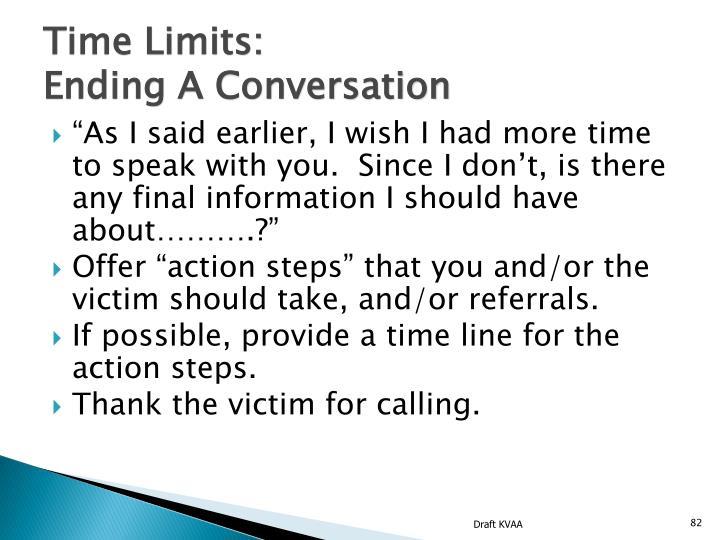 Time Limits: