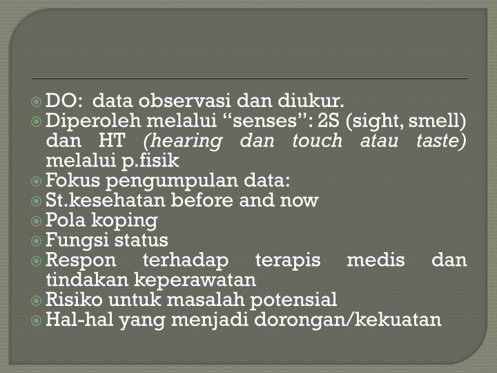 DO:  data