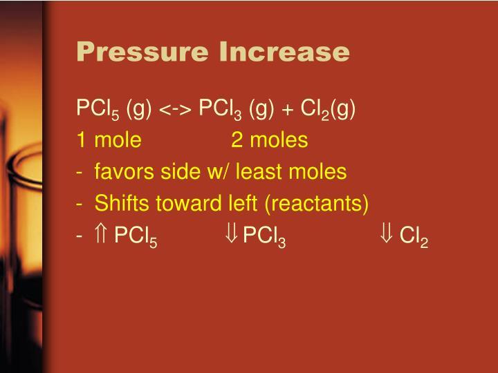 Pressure Increase