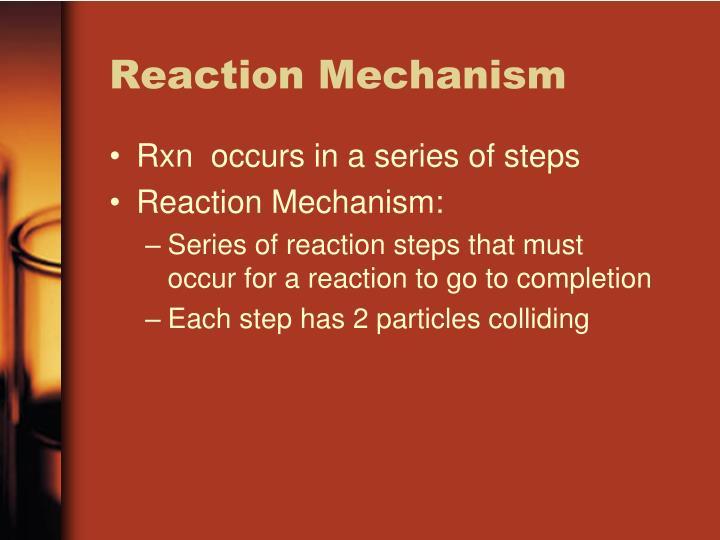 Reaction Mechanism