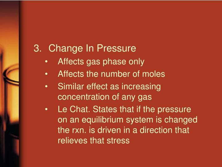 Change In Pressure