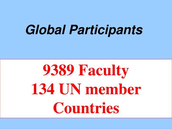 Global Participants