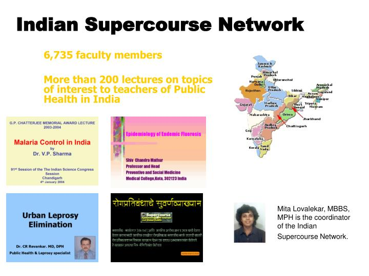 Indian Supercourse Network