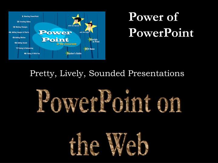 Power of