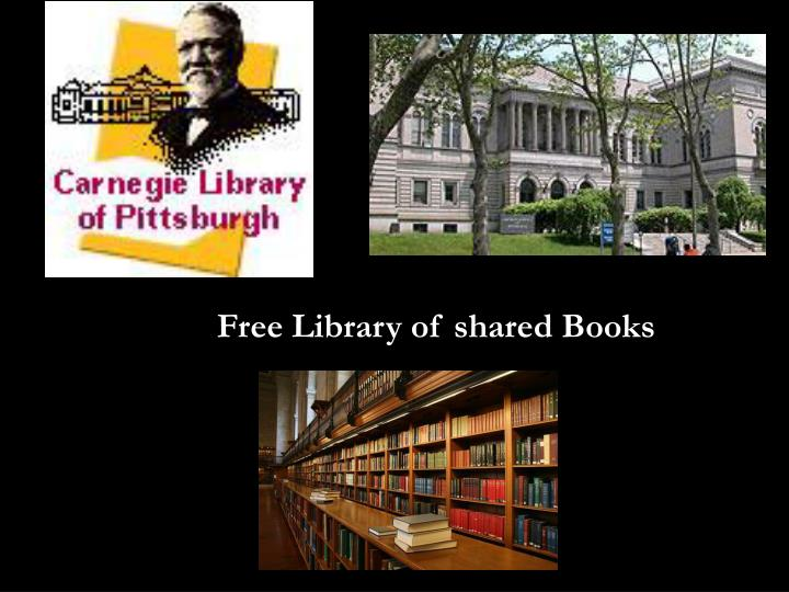 Free Library of shared Books